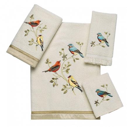 Полотенце банное Avanti Gilded Birds 019841IVR