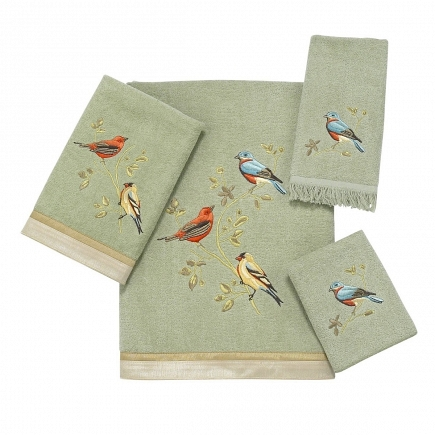 Полотенце банное Avanti Gilded Birds 019841SAG