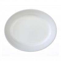 Тарелка овальная Corelle Winter Frost White 24см