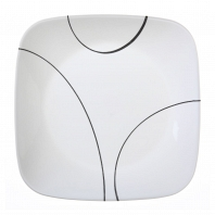 Тарелка закусочная Corelle Simple Lines 22см