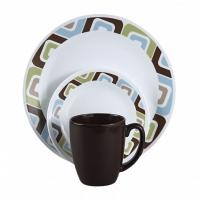 Набор посуды Corelle Squared 16пр.