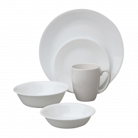 Набор посуды Corelle Winter Frost White 30пр.
