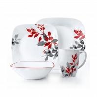 Набор посуды Corelle Kyoto Leaves 16пр.