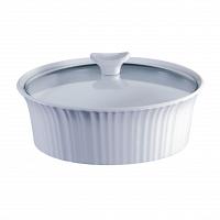 Форма для запекания круглая CorningWare French White 2,3л