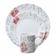 Набор посуды Corelle Sincerely Yours 16пр.
