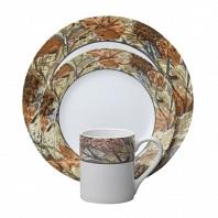 Набор посуды Corelle Woodland Leaves 16пр.