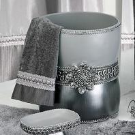 Корзина для мусора Avanti Braided Medallion Silver