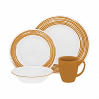 Набор посуды Corelle Brushed Yellow 16пр