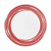 Тарелка обеденная Corelle Brushed Red 27см