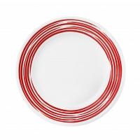 Тарелка закусочная Corelle Brushed Red 22см