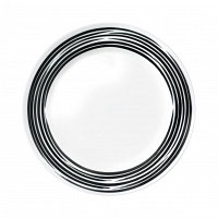 Тарелка закусочная Corelle Brushed Black 22см
