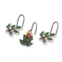 Набор из 12 крючков для шторки Avanti Spode Christmas Tree