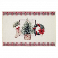 Коврик Avanti Bath Rugs Farmhouse Holiday 51х76см