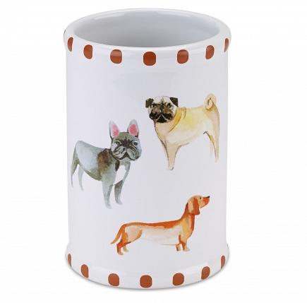 Стакан для зубной пасты Avanti Dogs on Parade 13688A