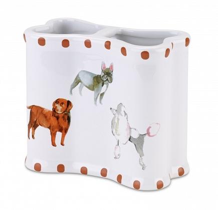 Стакан для зубных щеток Avanti Dogs on Parade 13688B