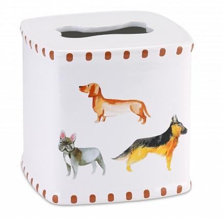 Бокс для салфеток (салфетница) Avanti Dogs on Parade 13688E