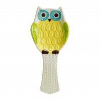Подставка для ложки Boston Warehouse Kitchen Floral Owl
