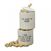 Набор банок (2 шт) Boston Warehouse Kitchen Stacking Snack Jar