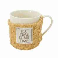 Кружка Boston Warehouse Kitchen Sweater mug Tea Time