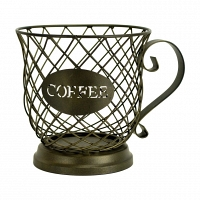 Корзина для коффейных капсул Boston Warehouse Kitchen Kup Keeper Holder Coffee Cup Diamond