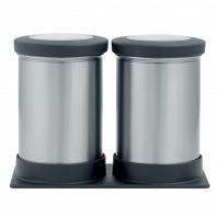 Набор контейнеров для сыпучих продуктов 2пр. Brabantia Canister 0,5л