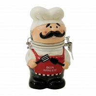 Банка для сыпучих продуктов Boston Warehouse Kitchen Chef