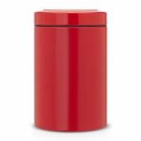 Контейнер с прозрачной крышкой Brabantia Passion Red 1,4л