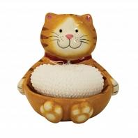 Держатель для губок/мочалок Boston Warehouse Kitchen Cat