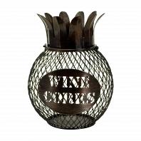Декоративная емкость для винных пробок/мелочей Boston Warehouse Kitchen Pineapple