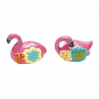 Набор солонка и перечница Boston Warehouse Kitchen Flamingo & Friends