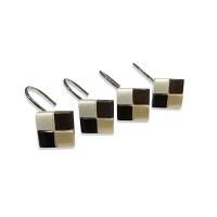 Набор из 12 крючков для шторки Croscill Mosaic