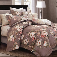 Лаура КПБ сатин 7Е Sofi de Marko Bedding Sets