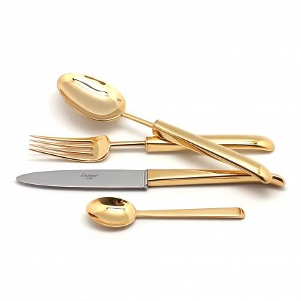 Набор Cutipol Carre Gold 24пр. 9131