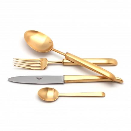 Матовый набор Cutipol Carre Gold 24пр. 9132
