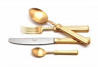 Матовый набор Cutipol Fontainebleau Gold 24пр.