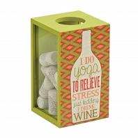 Декоративная емкость для винных пробок/мелочей Boston Warehouse Kitchen Yoga Wine