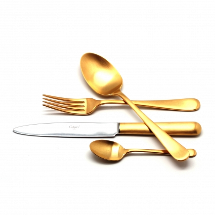Матовый набор Cutipol Atlantico Gold 24пр. 9202