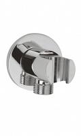 Подключение шланга WasserKRAFT Shower System с настенным держателем для лейки