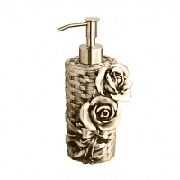 Дозатор мыла Art&Max Rose Бронза