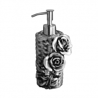 Дозатор мыла Art&Max Rose Серебро