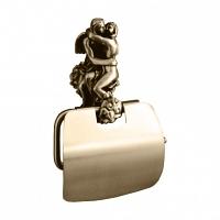 Держатель для туалетной бумаги Art&Max Romantic Бронза