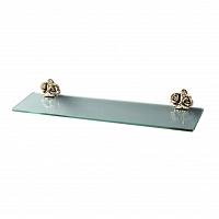 Полка стеклянная Art&Max Rose Бронза