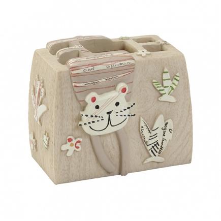 Стакан для зубных щеток Creative Bath Animal Crackers ANC60NAT