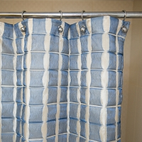 Шторка Arti-Deco Reno Azul 180х200см