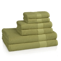 Полотенце для рук Kassatex Bamboo Bath Towels Aloe