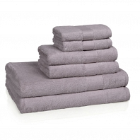 Полотенце для рук Kassatex Bamboo Bath Towels Amethyst