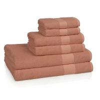 Полотенце для рук Kassatex Bamboo Bath Towels Coral