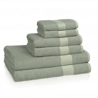 Полотенце для рук Kassatex Bamboo Bath Towels Rain