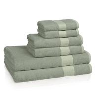 Полотенце для рук Kassatex Bamboo Bath Towels Rain