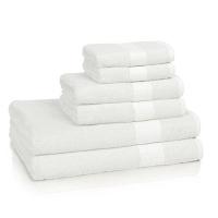 Полотенце для рук Kassatex Bamboo Bath Towels White